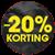 -20% korting