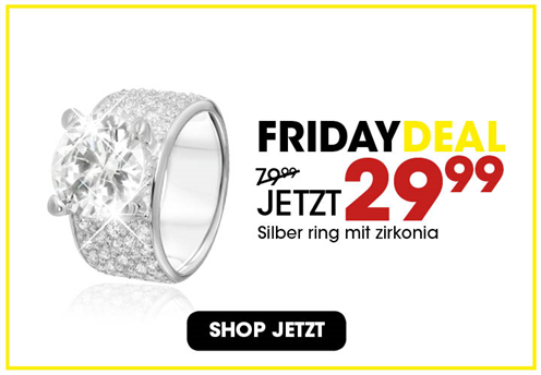 Black Friday aanbieding - Zilveren ring 3