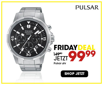 Black Friday aanbieding - Pulsar Herrenuhr 3