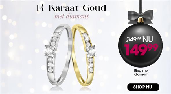 Diamanten ring 2