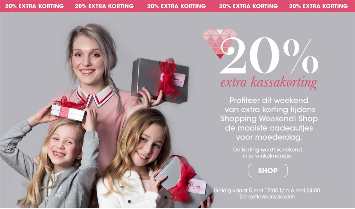 20% extra korting