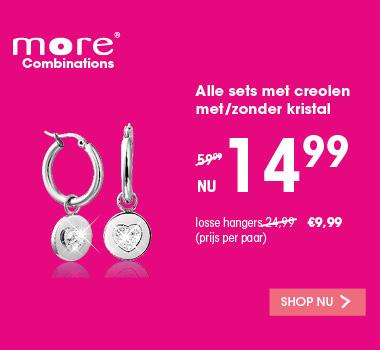 More Combinations oorbellen | Mix en Match  | Lucardi.nl